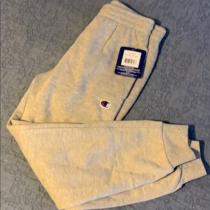 Boys NEW small Oxford Heather Champion sweatpants